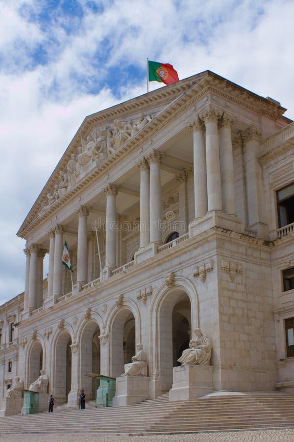 Португальский парламент в Лиссабоне стоковая фотография