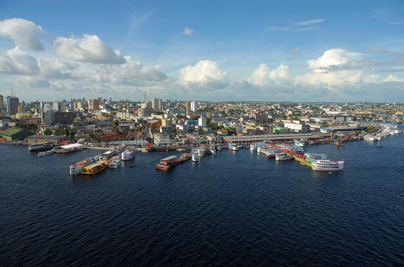 Порту региональный de Манаус стоковое изображение rf