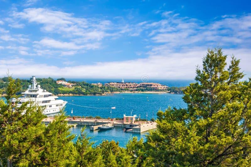 Порту Cervo, Сардиния стоковое фото