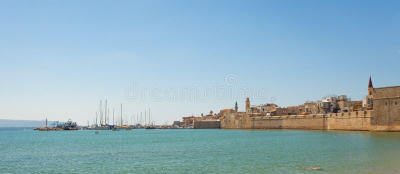 Порт акра, Израиль стоковые фото