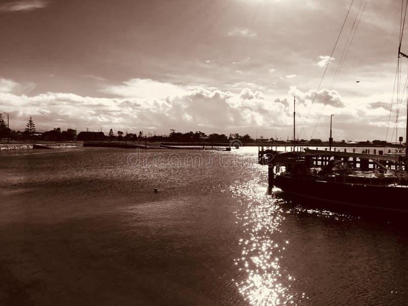 Порт Альберт, Виктория, Австралия стоковое фото rf