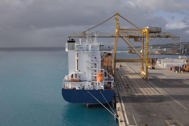 Download порт Барбадосских островов Bridgetown Стоковое Изображение - изображение насчитывающей груз, карибско: 6850383