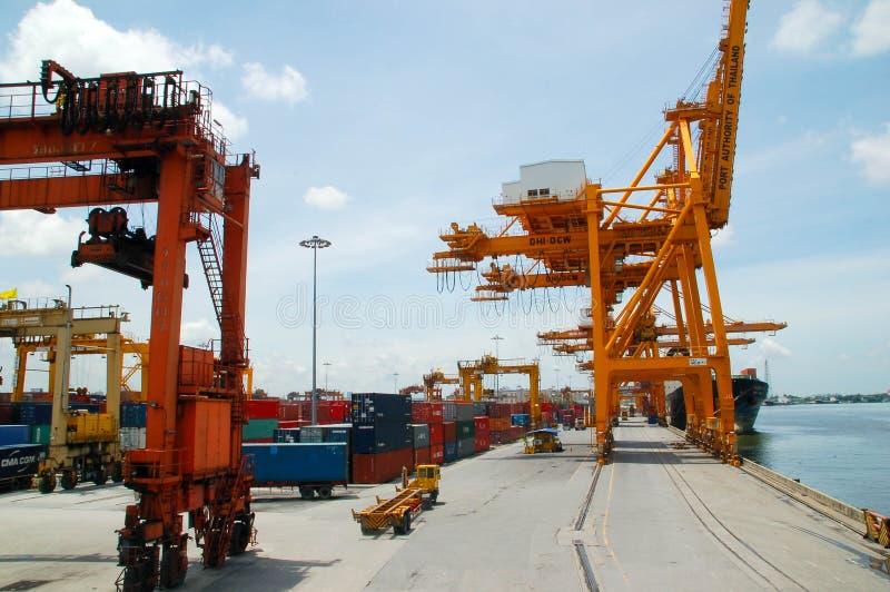 порт в Таиланде стоковое изображение rf