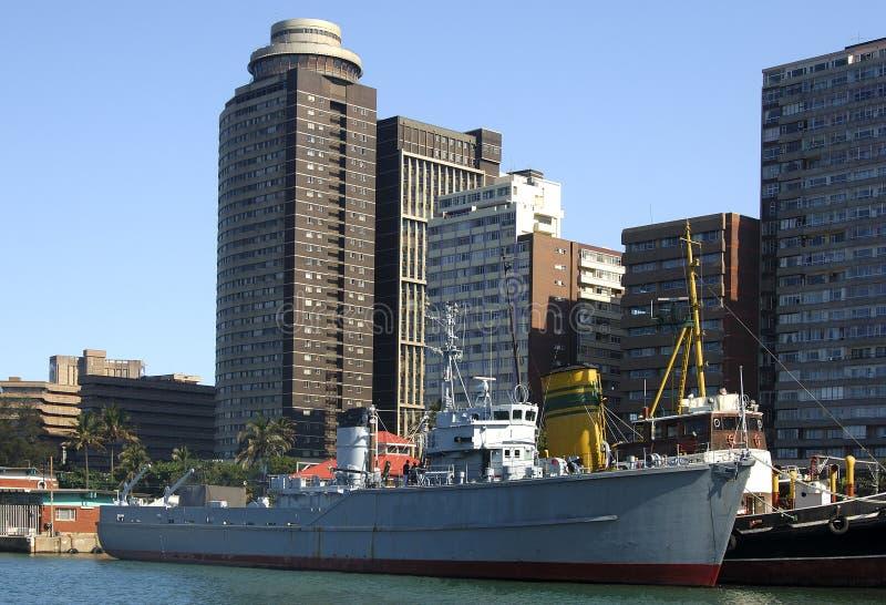 порт города стоковые изображения