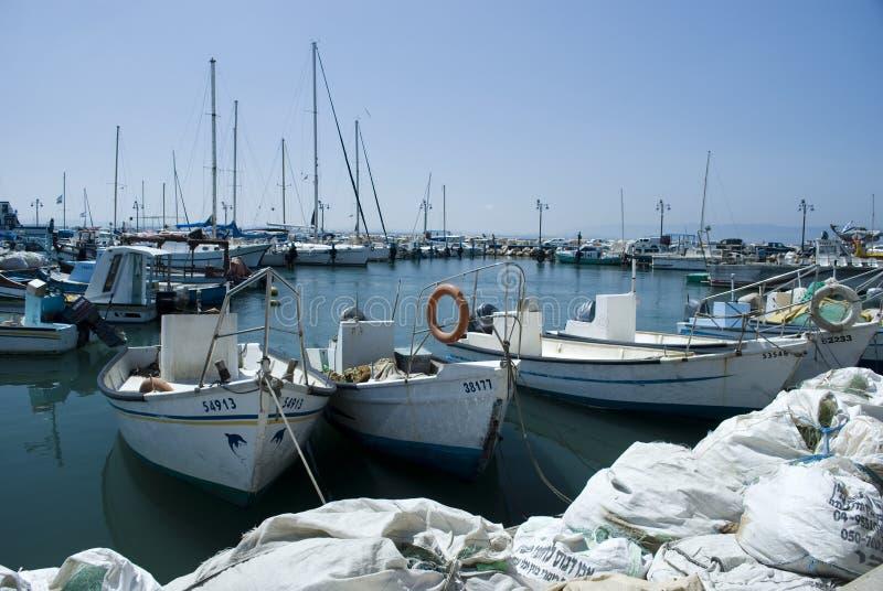 порт Израиля akko акра стоковое изображение rf
