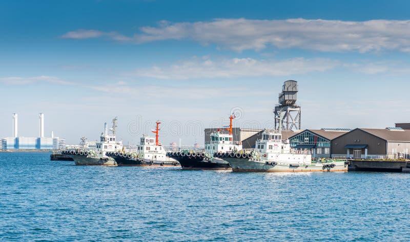 Порт Иокогама стоковое изображение rf