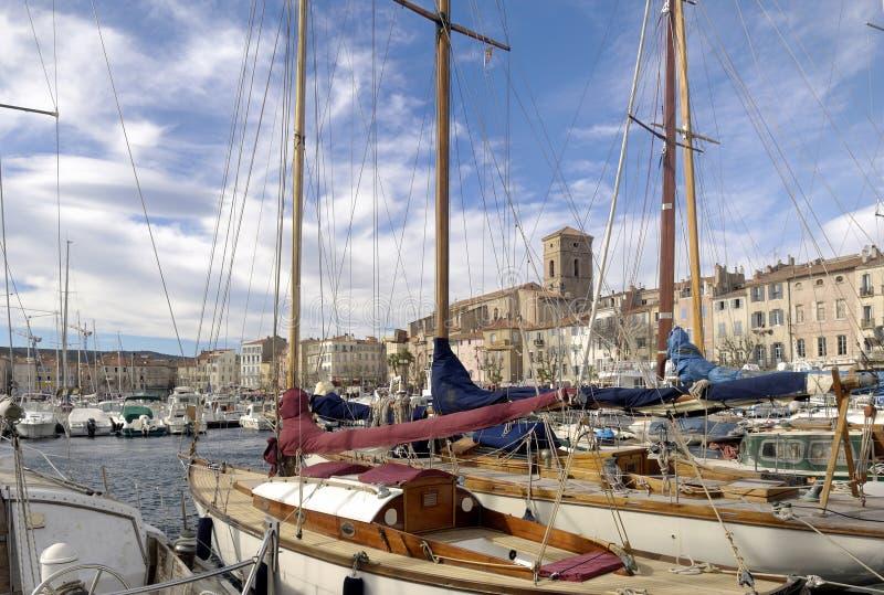 Порт Ла Ciotat, французской ривьеры стоковые фото