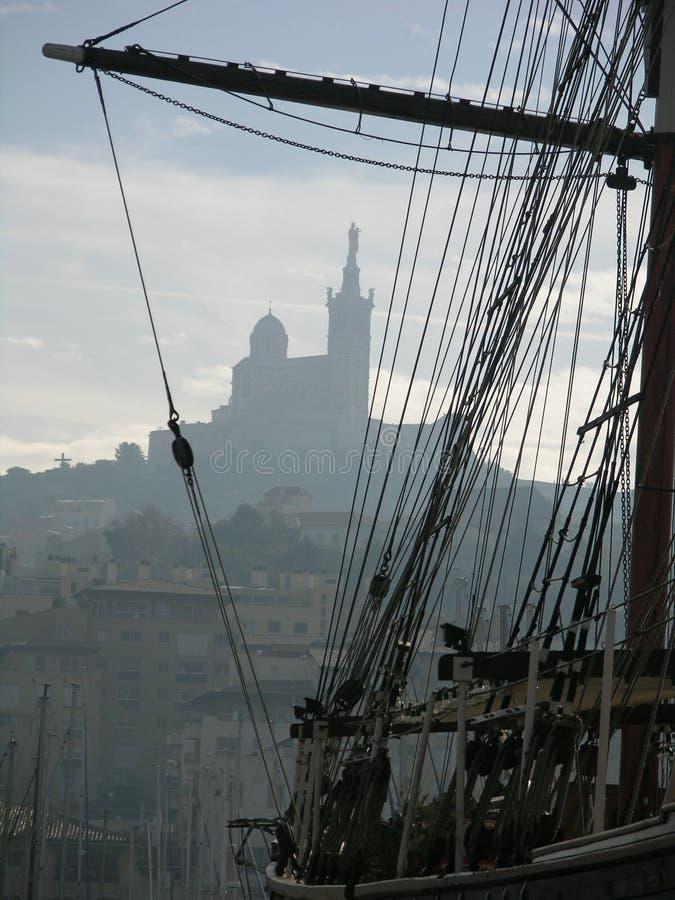 порт марселя стоковые изображения