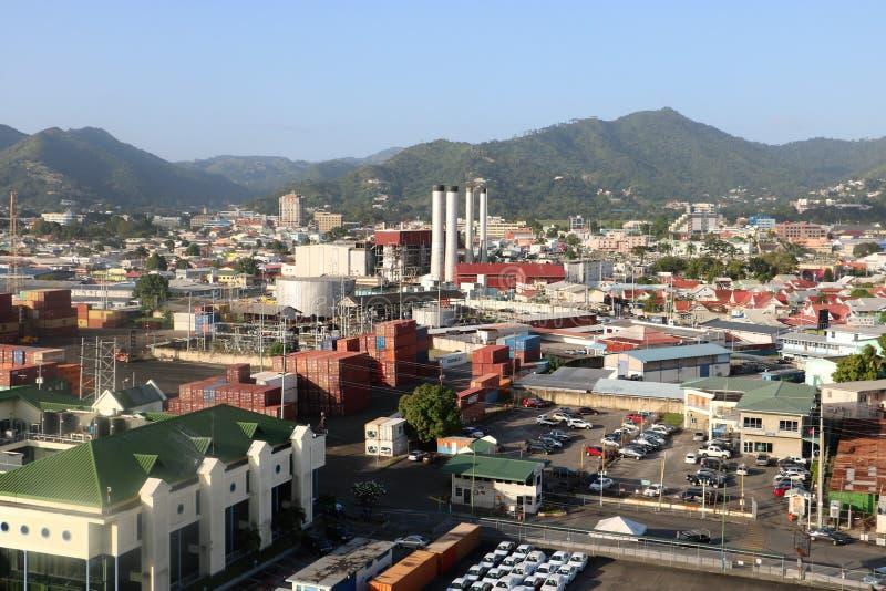Порт-оф-Спейн, Тринидад и Тобаго стоковые фото