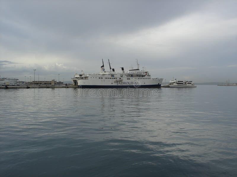 Порт разделения стоковое изображение