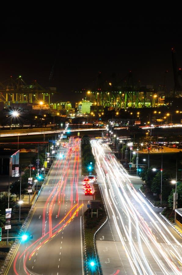 Порт Сингапура стоковые фото