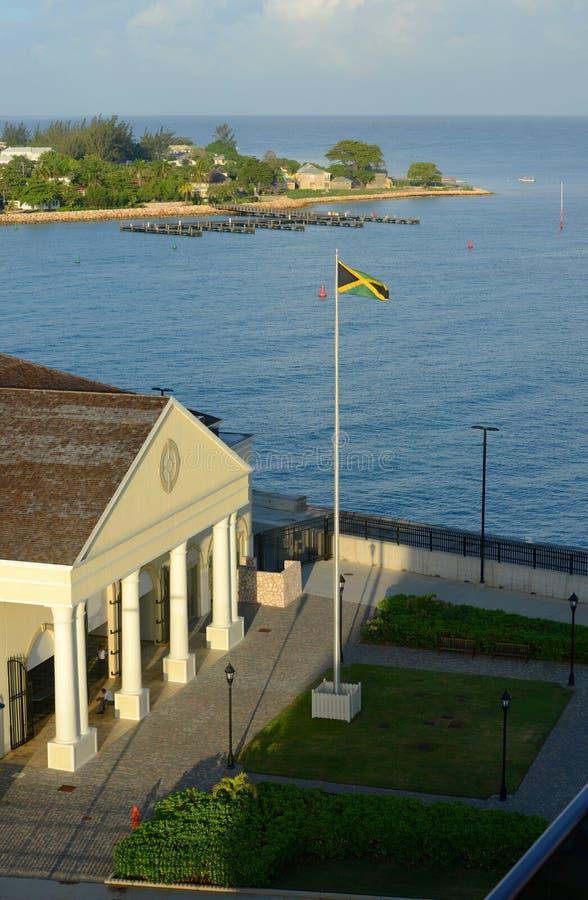 Порт Фолмута, ямайка стоковые изображения rf
