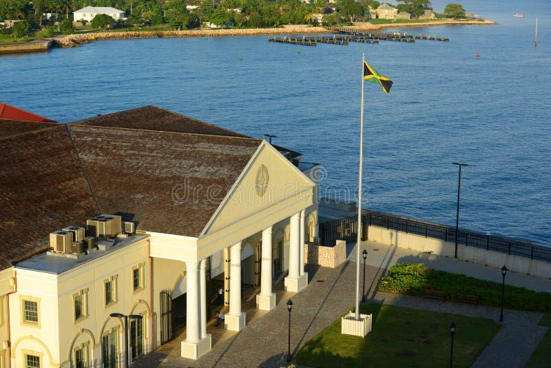 Порт Фолмута, ямайка стоковое изображение