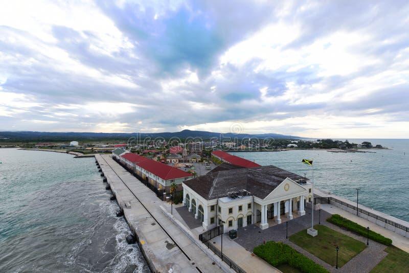 Порт Фолмута, ямайка стоковые фото