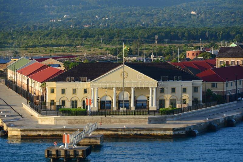 Порт Фолмута, ямайка стоковое изображение rf