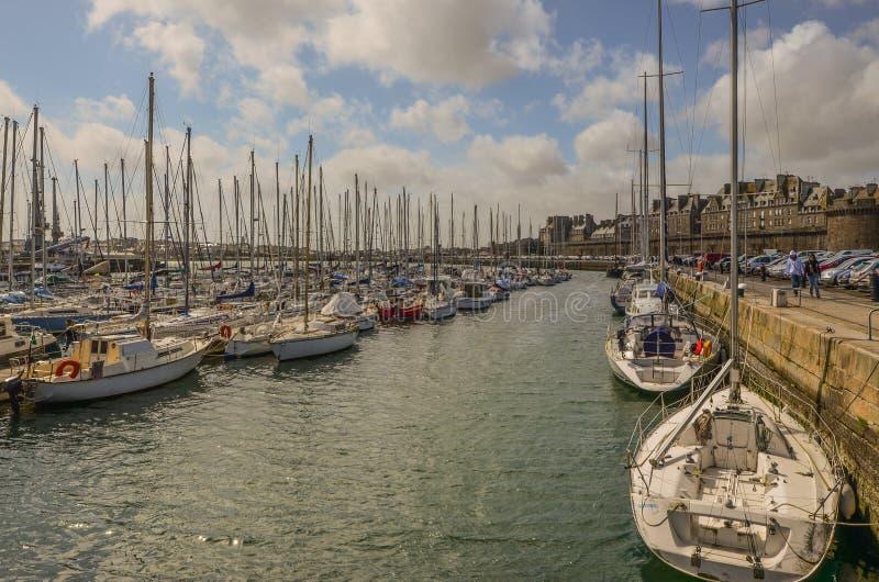 порт Франция стоковые фото