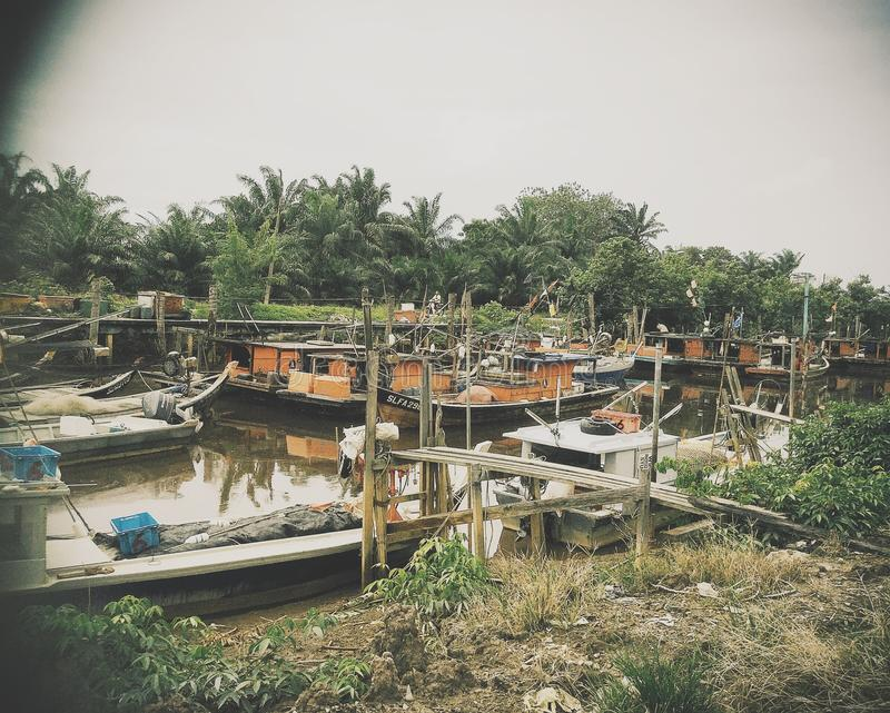 Порт шлюпки стоковое изображение