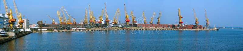Порт стоковое изображение rf