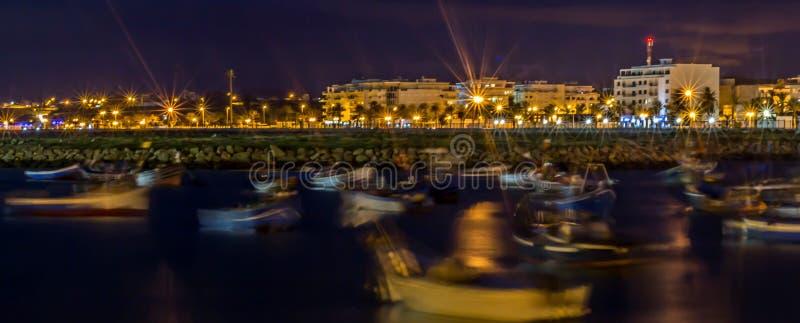 Порт Asilah стоковое фото rf