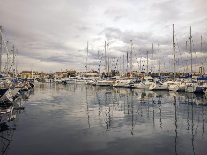 Порт Cambrils стоковое фото rf