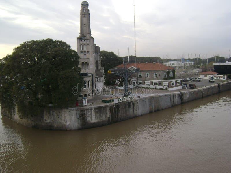 Порт Colonia, Уругвая стоковые фото