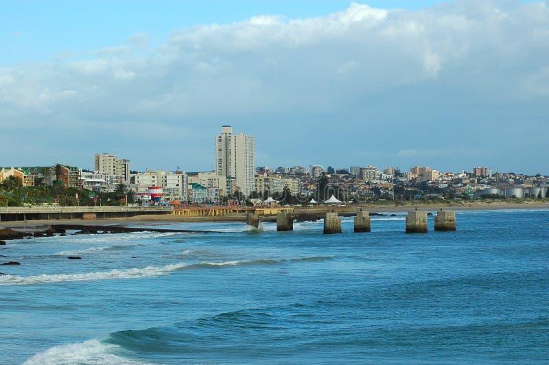 порт elizabeth города стоковые изображения