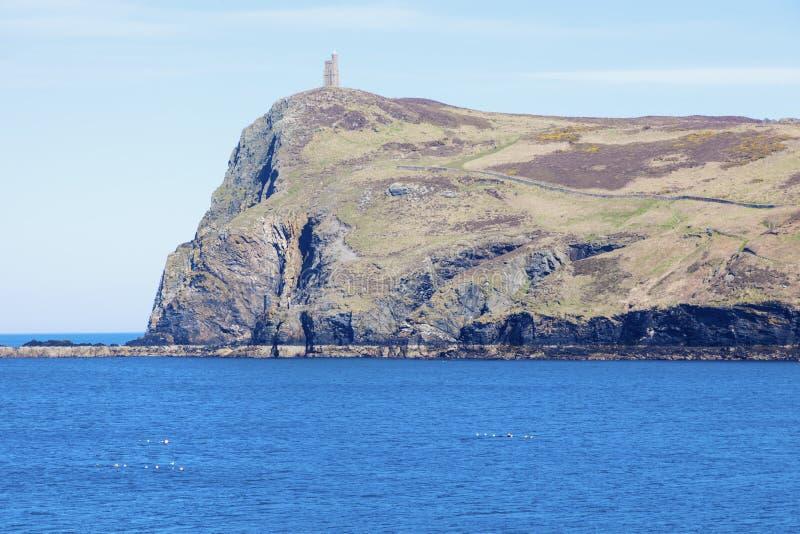 Порт Erin на острове Мэн стоковые фотографии rf