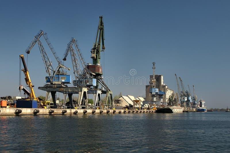 порт gdansk стоковые фотографии rf