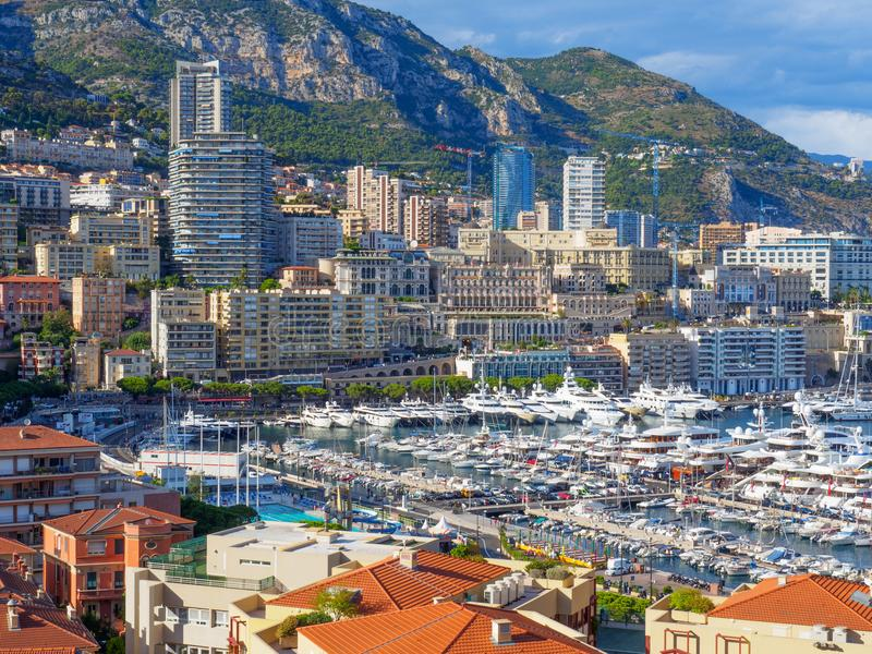 Порт Hercule, Монако стоковая фотография