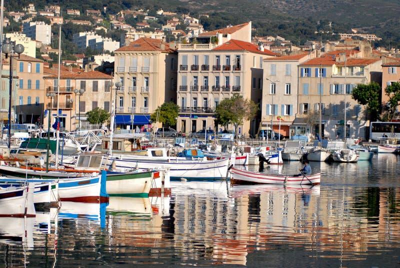 порт la ciotat стоковые фото