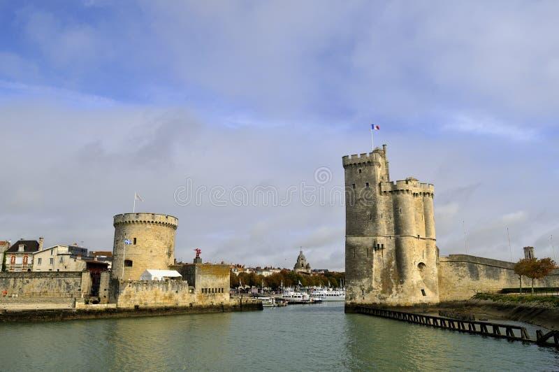 Порт La Rochelle стоковые фото