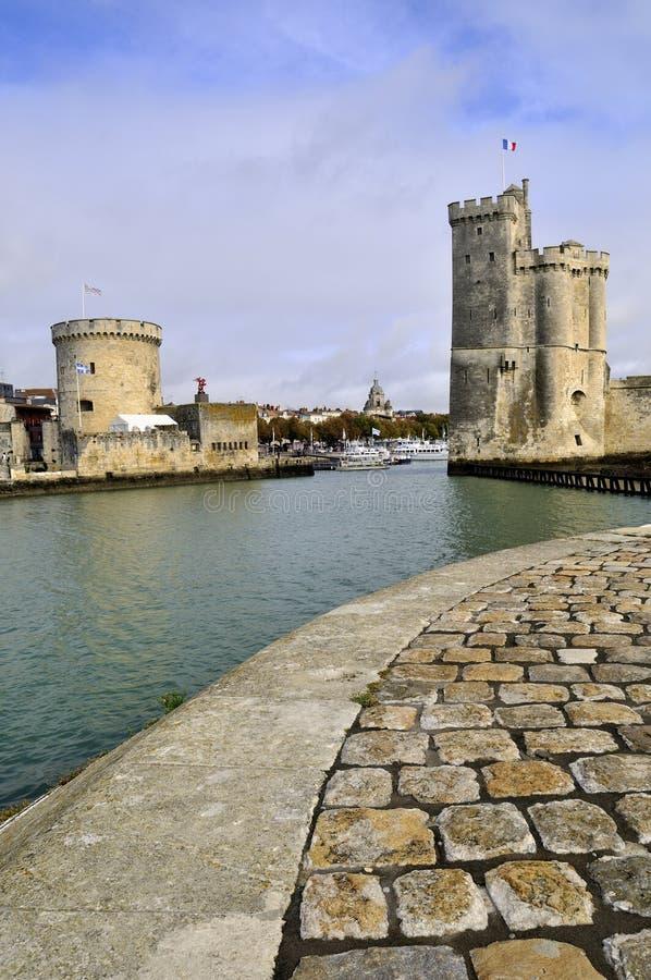 Порт La Rochelle стоковые изображения