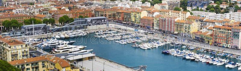 Порт Le vieux, славный, Франция стоковые изображения