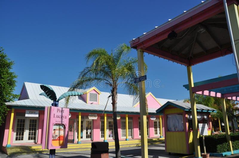 порт lucaya Багам стоковые изображения rf