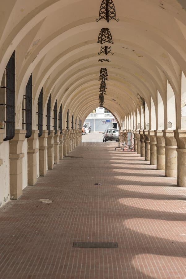 Порт Mandraki гавани гавани городка Родоса стоковое изображение rf