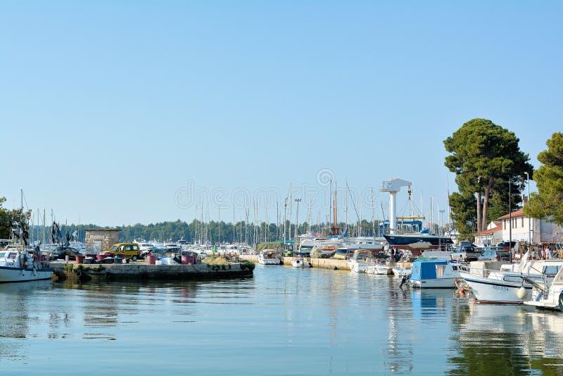 порт Novigrad стоковая фотография rf