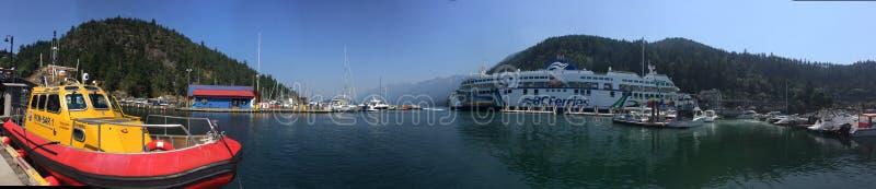 Порт Panaromic стоковая фотография