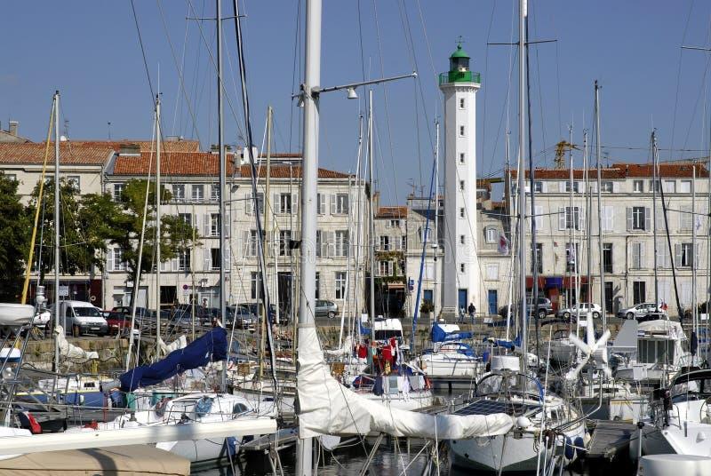 порт rochelle la Франции стоковое фото rf