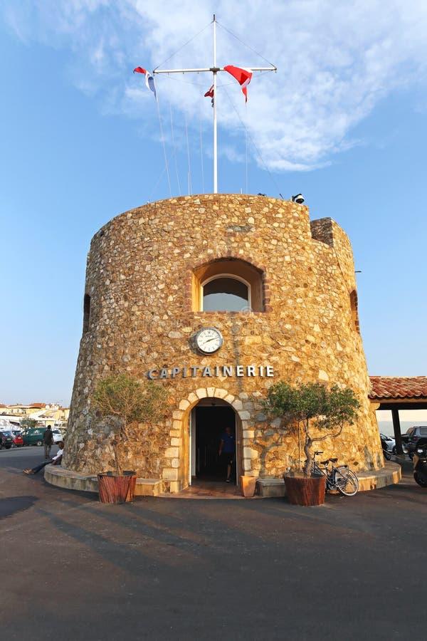 Порт St Tropez стоковая фотография
