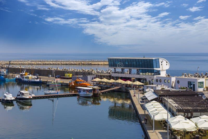Порт Tomis в Constanta стоковая фотография rf