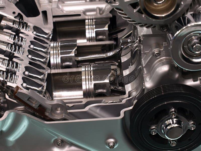 поршени двигателя автомобиля стоковые изображения