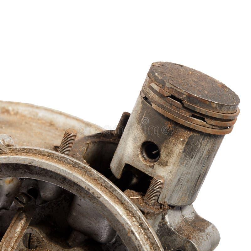 Поршень двигателя стоковые фотографии rf