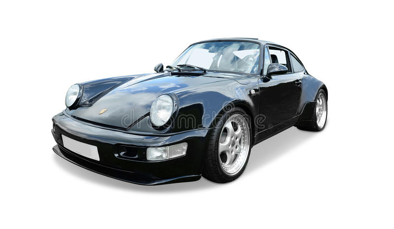 911 Порше turbo стоковое изображение rf