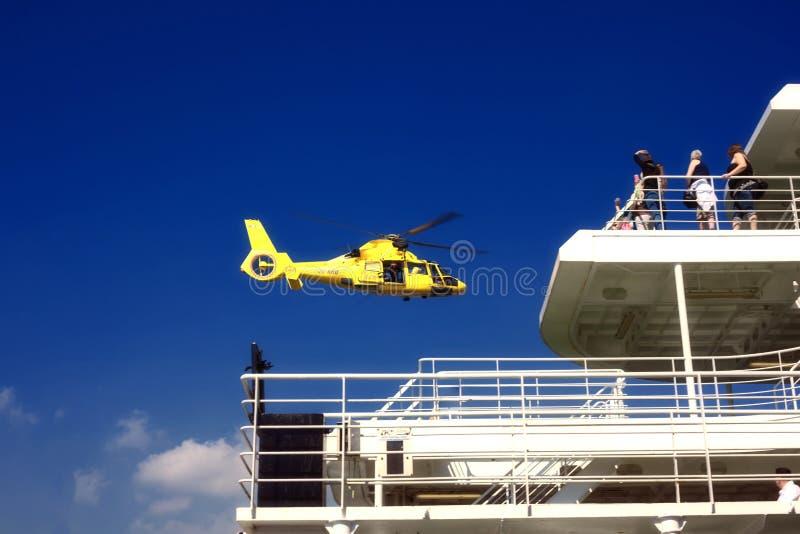 Посадка спасения моря стоковые фото