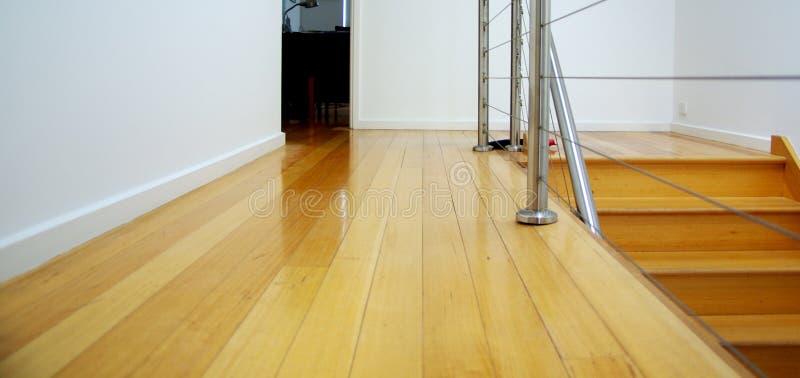 посадка floorboard стоковые изображения
