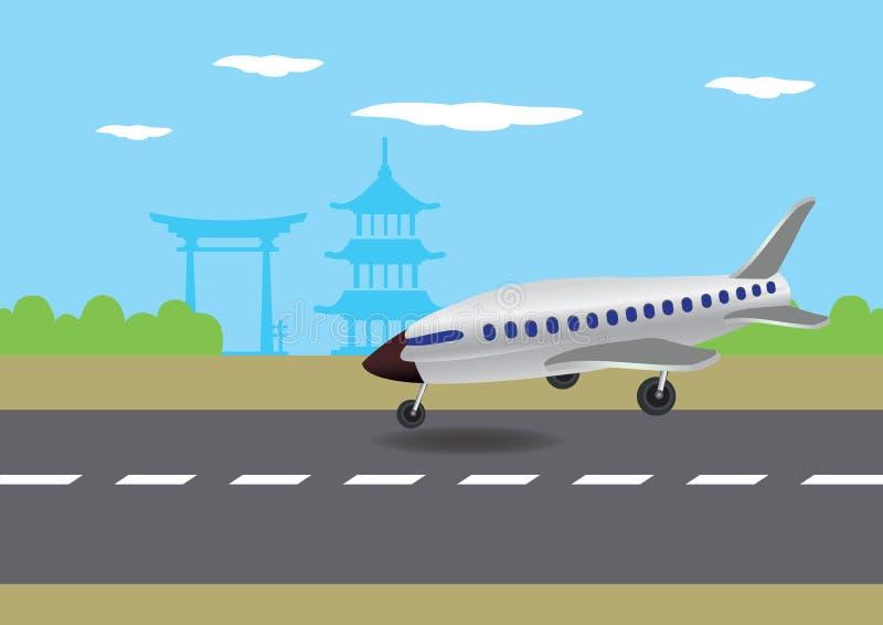 Самолет на взлетной полосе картинки для детей