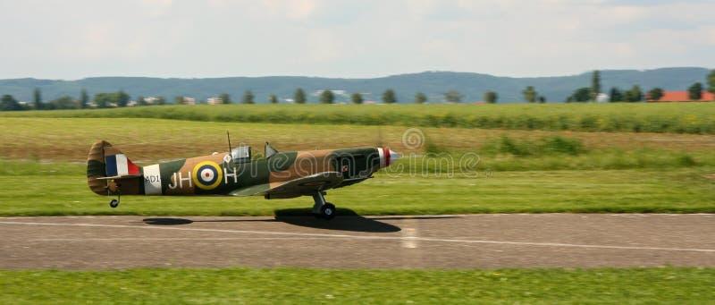 Посадка Spitfire стоковое фото rf