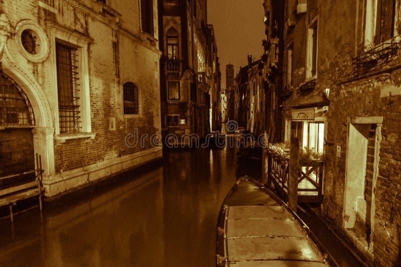 Посещение Венеции когда туристы нет там стоковые изображения