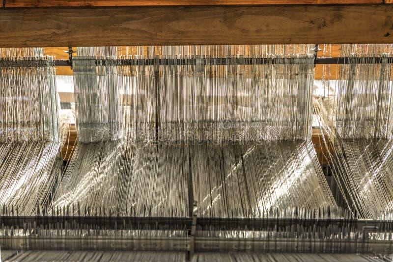 Посещение хлопкопрядильных фабрик Boott музея индустрии в Лоуэлл, США стоковые фотографии rf