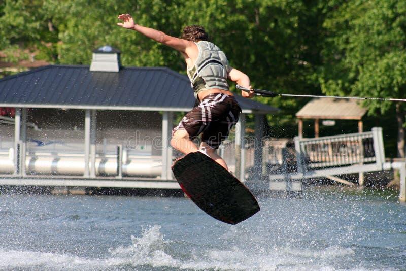 поскачите wakeboard стоковое фото rf